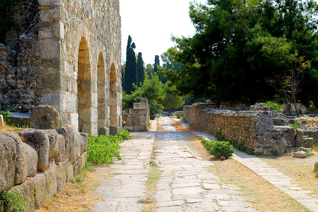 Archaeological Sites Greek Ruins Kos (3)