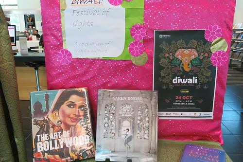 Diwali display