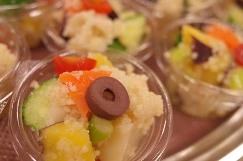 有機野菜のクスクスフレンチサラダ  good food for health and blood pressrure omron HEM-6321T 27