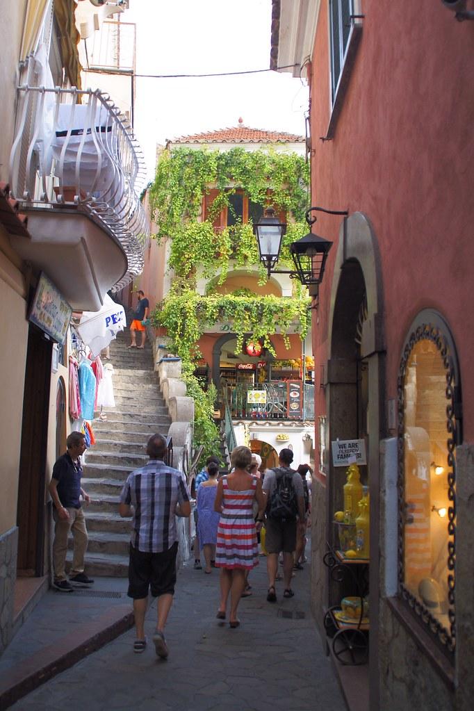 Streets of Positano, VSCOcam