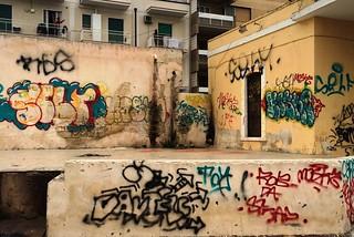 Noicattaro. Vandalismo area ex stazione Fse front