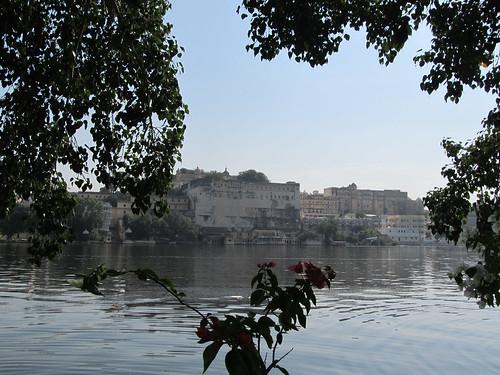 Udaipur: de l'autre côté de la rive