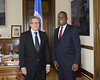 Secretary General Met with Presidential Candidate of Haiti Jean-Henry Céant