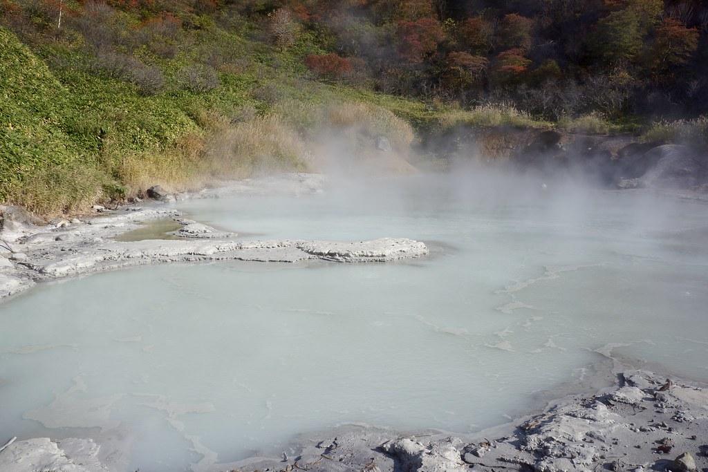 大湯沼 / Oyunuma Pond
