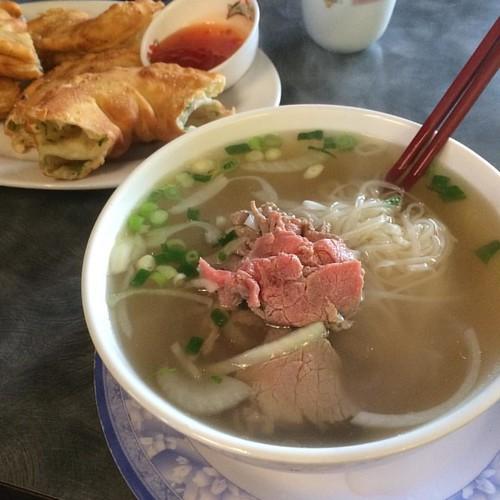 Pho tai #yegfood
