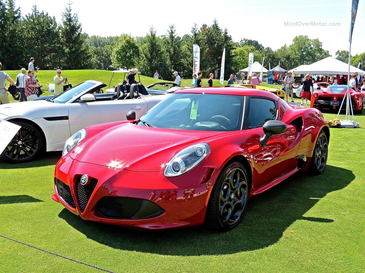 Alfa Romeo 4C Concours of America