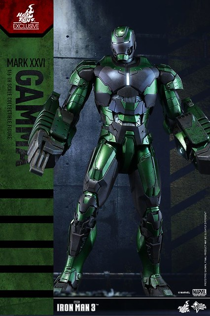 Hot Toys – MMS332 – 鋼鐵人【馬克26 伽瑪】1/6 比例 Mark XXVI Gamma