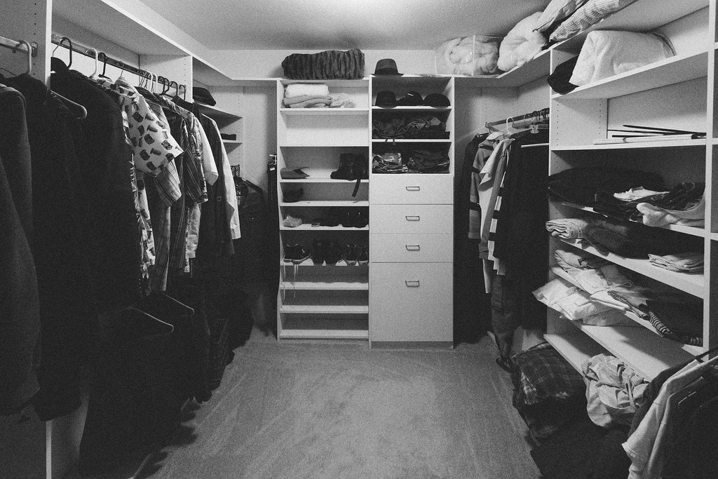 Day 316 - Photo365 - In Your Closet