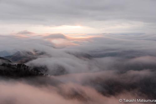 sunset sea reflection japan clouds nikon mt ngc kanazawa tonodake d5300