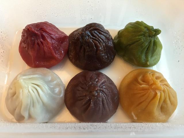 Assorted mini buns Shanghai style - Shanghai Dim Sum