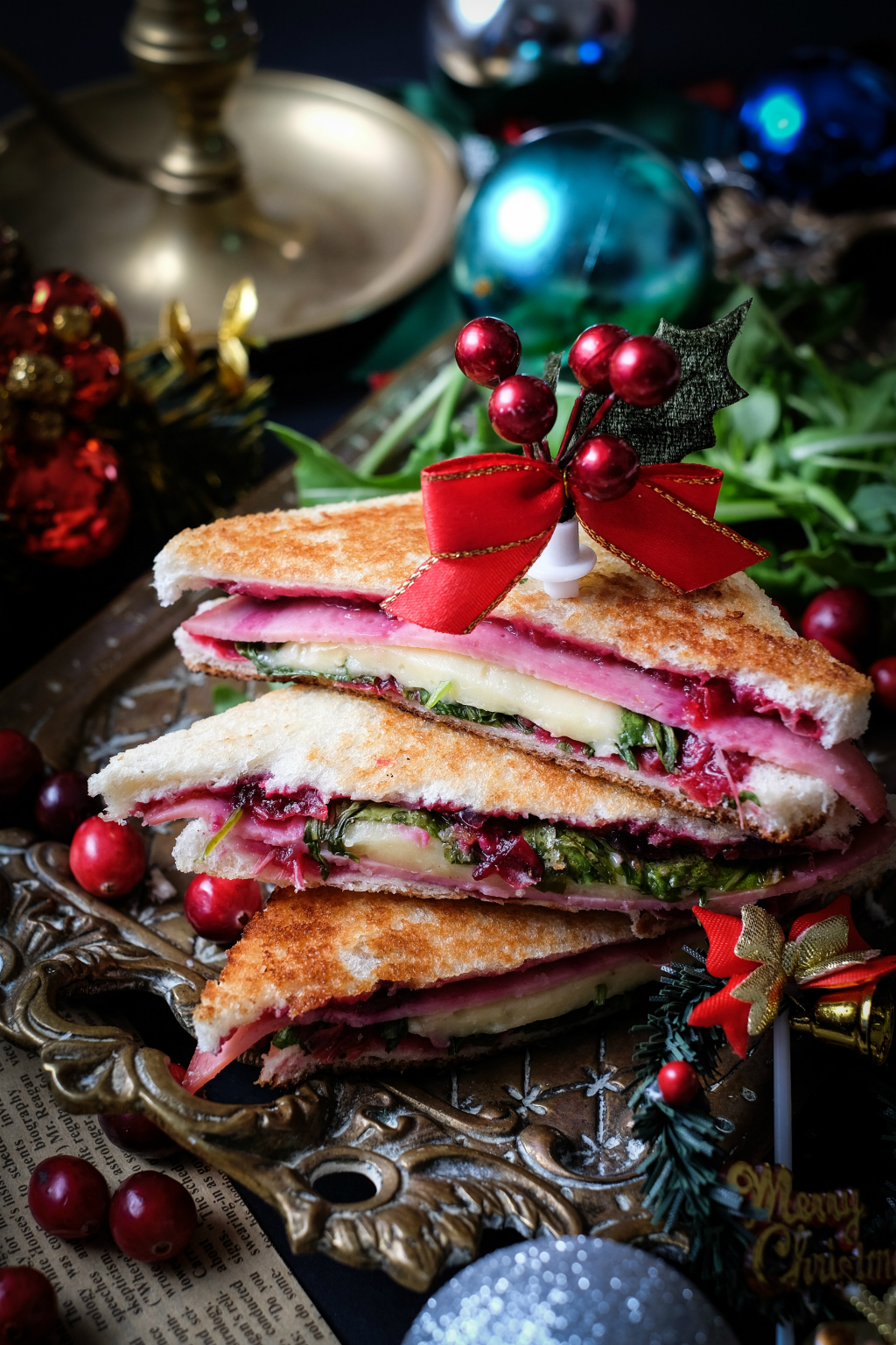 Mozzarell-Cranberry-Toasties