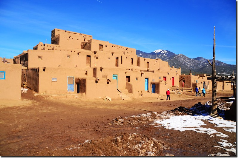 "Hlaumma"" at The North House, Taos Pueblo 3"
