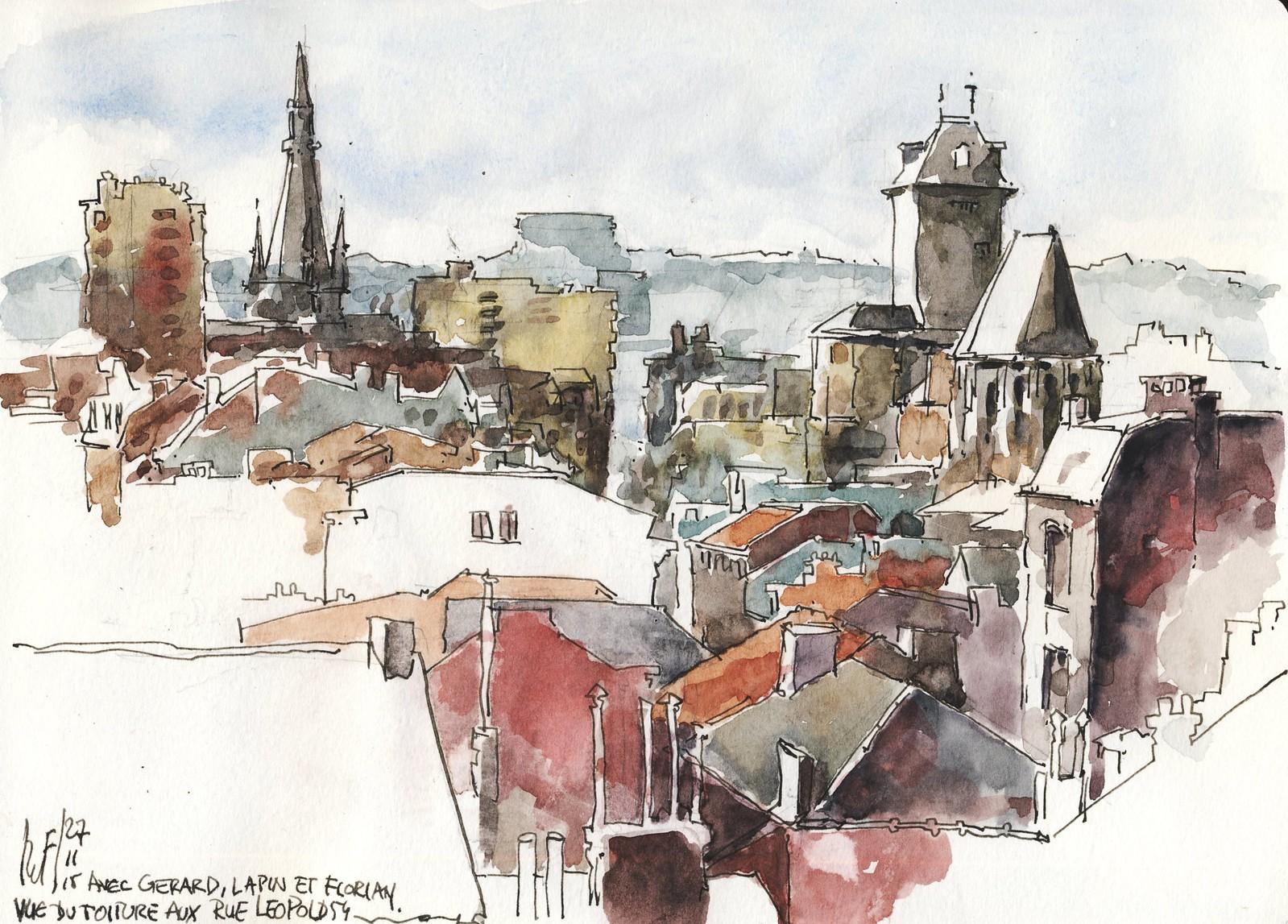 Liège rooftops