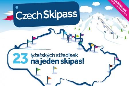 Vyhlášení soutěže o celosezónní Czech Skipass do 23 středisek!