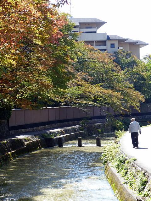 Stepping Stones, Canal in Higashiyam