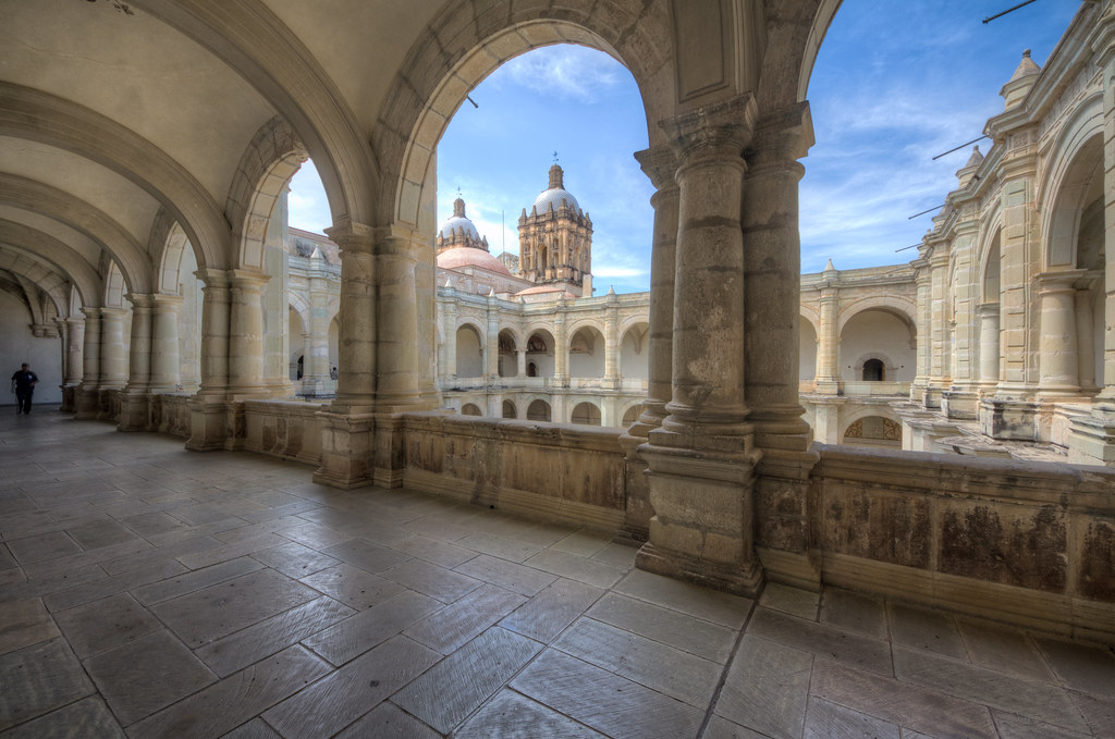 Inside the Santo Domingo Monastery