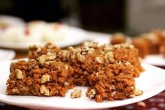 Akhrot Halwa is a kind of walnut crumble that is widely popular in South Asia and the Middle East. It is a rich dark and luxurious sweet with a chewy and soft feel that melts in the mouth, leaving you tempting for more~!! 💕 #thursday #evening #