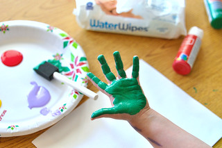 Easy Handprint Craft for Toddlers | by Melissa Hillier