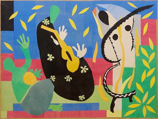 """La tristesse du roi"", Henri Matisse, 1952. Centre Pompidou, Paris."