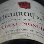 Methuselah (6 litersflaska) på Chateau Mont Redon