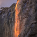Fiery Horsetail Fall, Yosemite National Park