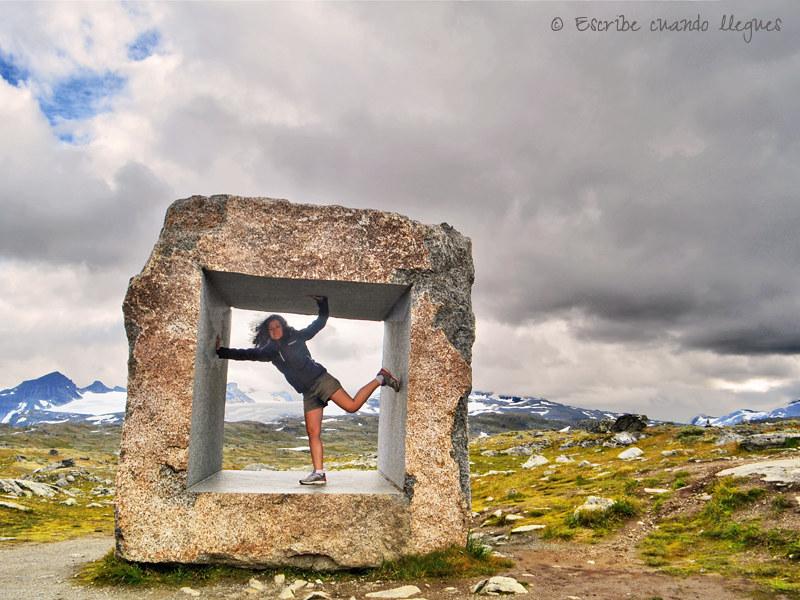 La Carretera Turística Nacional de Sognefjellet tiene el puerto de montaña más elevado de Noruega