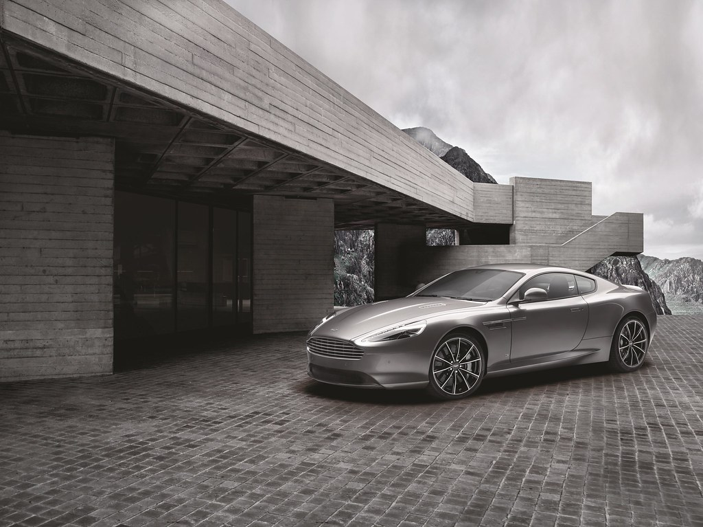 This is the Aston Martin DB9 GT Bond Edition