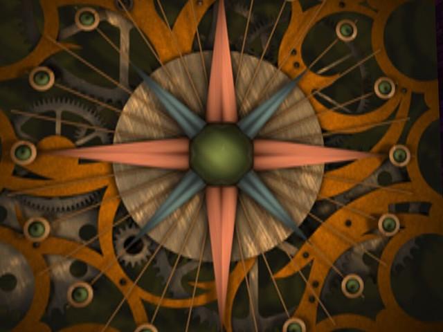Black Opal -  Compass Rose