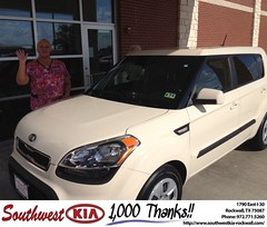 Happy Anniversary to Theresa & Pamela on your #Kia#Soul from Kathy Parks at Southwest KIA Rockwall!