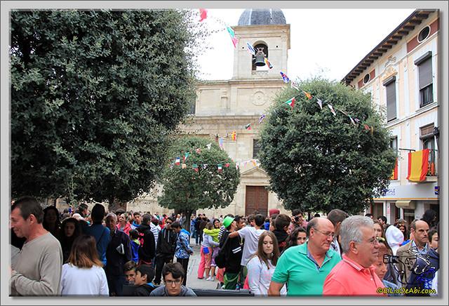 Briviesca en Fiestas 2.015 Primer encierro y chocolatada popular (14)