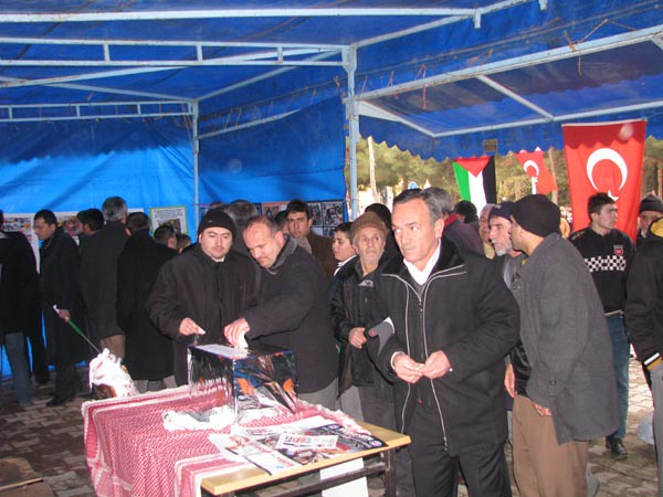 2009.01.09 Gazze Filistin Halkına Yardım Kampanyası