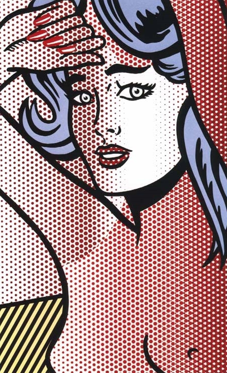 Roy Lichtenstein, Nude with Blue Hair, 1994, edition of 40