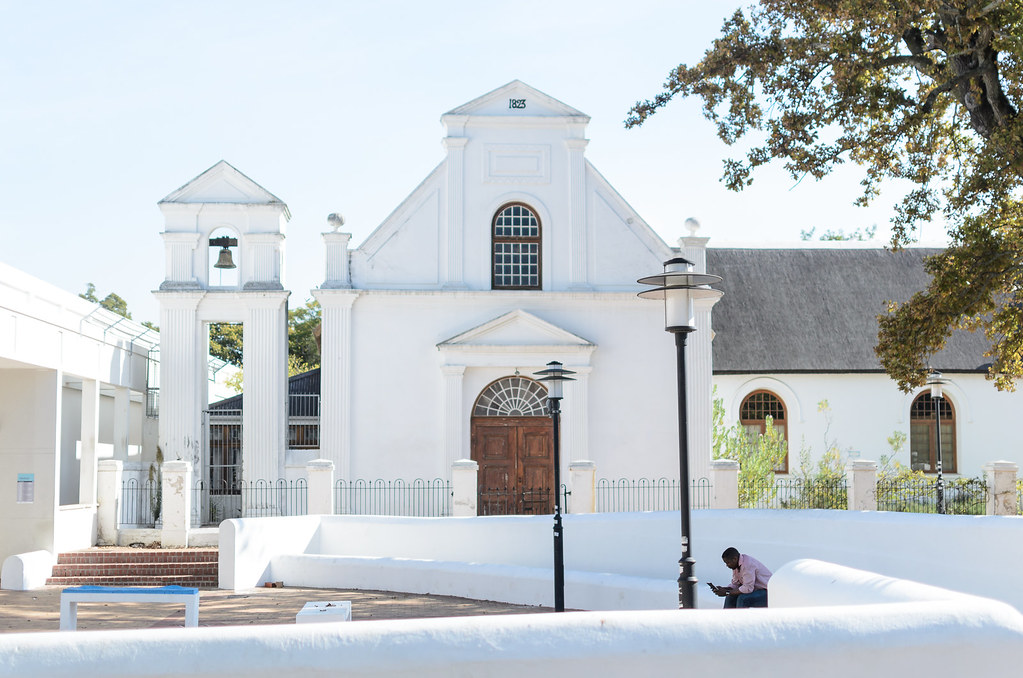 Stellenbosch White buildings