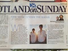 Scotland On Sunday, JR Green