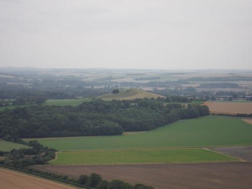 Woodborough Hill from Huish Down