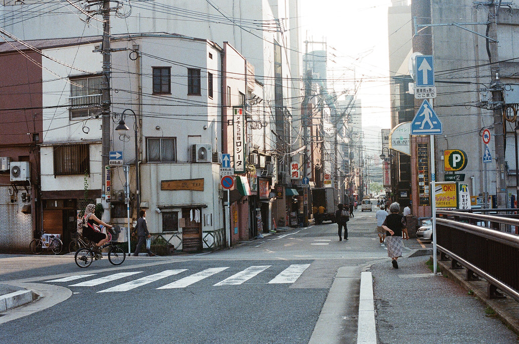 中洲 福岡 Fukuoka 2015/09/04 在新橋通附近  Nikon FM2 / 50mm Kodak UltraMax ISO400 Photo by Toomore