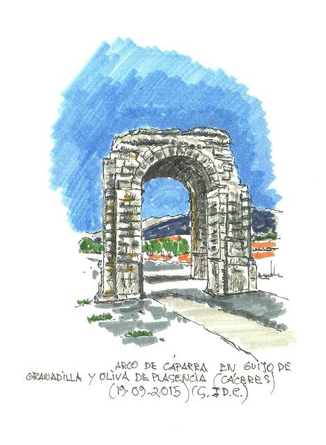 Cáparra (Granadilla y Oliva de Plasencia) en Cáceres