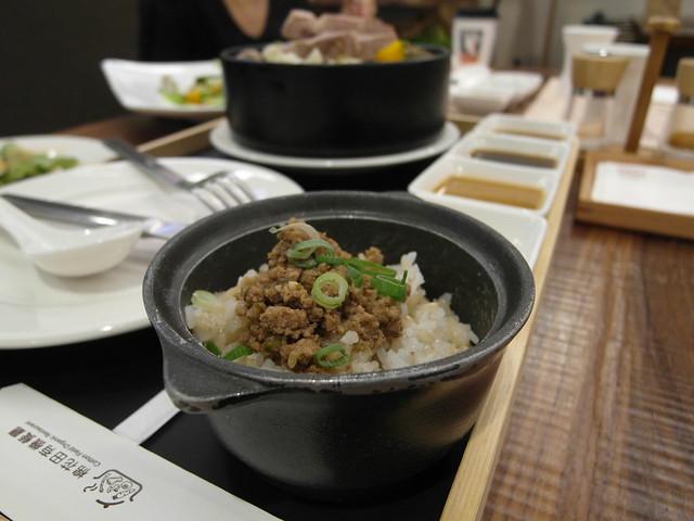 香草豬肉燥飯@棉花田有機餐廳