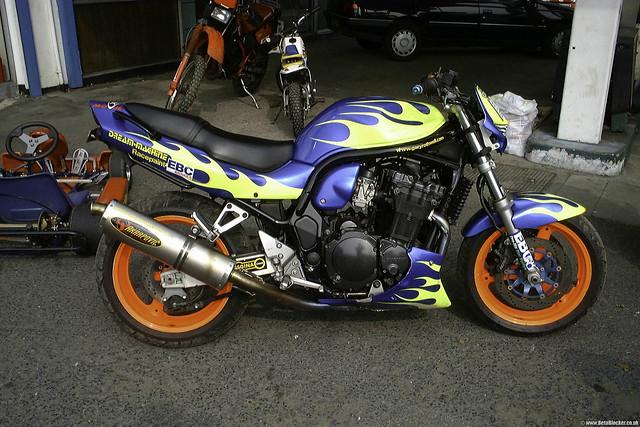 Gary Rothwell Suzuki GSF1200 Bandit