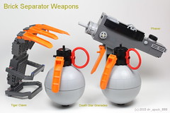 Brick Separator Weapons
