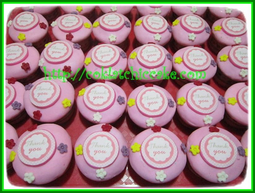 Minicupcake thank you / minicupcake edible image