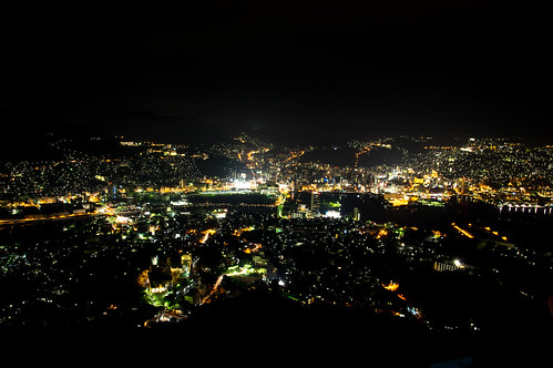 Inasayama night view
