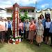 Inauguração - Poste da Paz em Itu