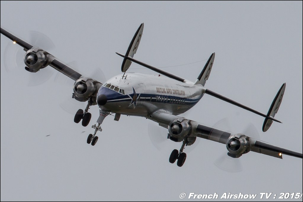 Super Constellation HB-RSC breitling Fly-In CASG Prangins 2015 aerodrome de la Côte LSGP Canon Sigma France contemporary lens Meeting Aerien 2015