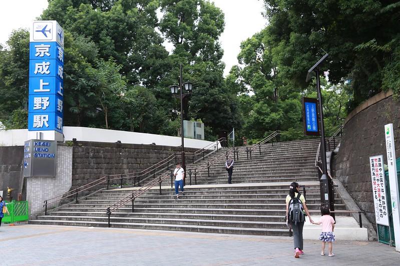 上野恩賜公園側門