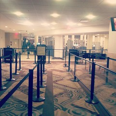First in line at the airport. #blissdomca #nashville filter in Nashville.
