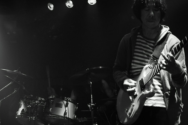 熊のジョン live at Outbreak, Tokyo, 14 Oct 2015. 465