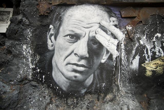 Jackson Pollock, painted portrait _DDC0007