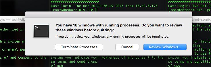 quit window