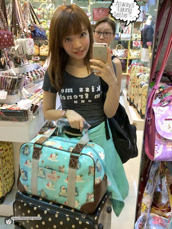 Tiffany Yong BKK Selfie